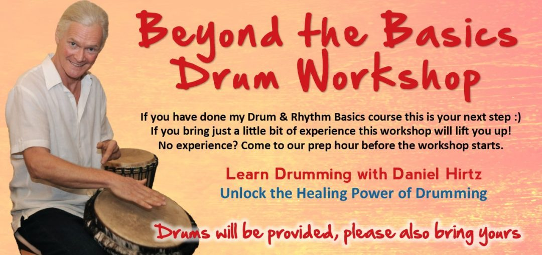 Beyond the Basics Drumming Workshop