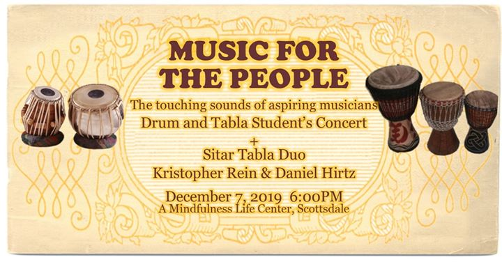 Music For The People - Student Concert @ A Mindfulness Life Center | Scottsdale | AZ | United States